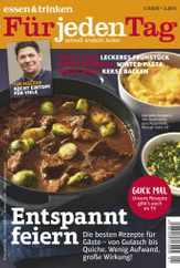 essen&trinken für jeden Tag (Digital) Subscription January 1st, 2020 Issue