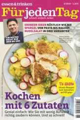 essen&trinken für jeden Tag (Digital) Subscription June 1st, 2019 Issue