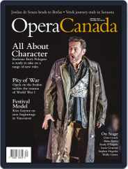 Opera Canada (Digital) Subscription June 1st, 2016 Issue