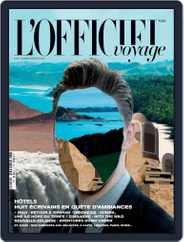 L'Officiel Voyage (Digital) Subscription September 1st, 2016 Issue