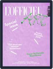 L'officiel Art (Digital) Subscription June 1st, 2015 Issue