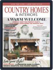 Country Homes & Interiors (Digital) Subscription January 1st, 2020 Issue