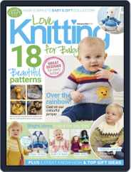 Love Knitting for Baby (Digital) Subscription January 23rd, 2020 Issue