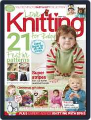 Love Knitting for Baby (Digital) Subscription October 1st, 2019 Issue