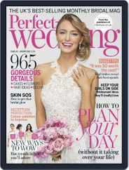 Perfect Wedding (Digital) Subscription January 1st, 2018 Issue