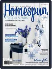 Australian Homespun (Digital) Subscription September 1st, 2018 Issue