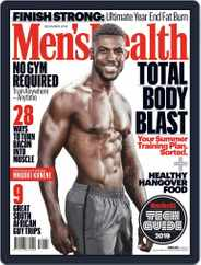 Men's Health South Africa (Digital) Subscription December 1st, 2019 Issue