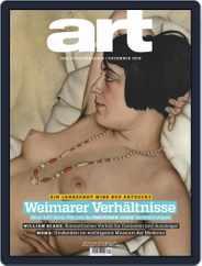 art Magazin (Digital) Subscription December 1st, 2019 Issue