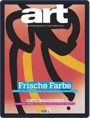 art Magazin (Digital) Subscription September 1st, 2019 Issue