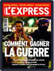 L'Express Grand Format (Digital) Subscription October 31st, 2015 Issue