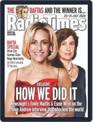 Radio Times (Digital) Subscription July 25th, 2020 Issue