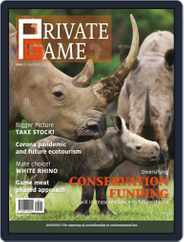 PRIVATE GAME | WILDLIFE RANCHING (Digital) Subscription July 1st, 2020 Issue