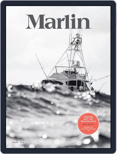 Marlin Digital Magazine August 1st, 2020 Issue Cover