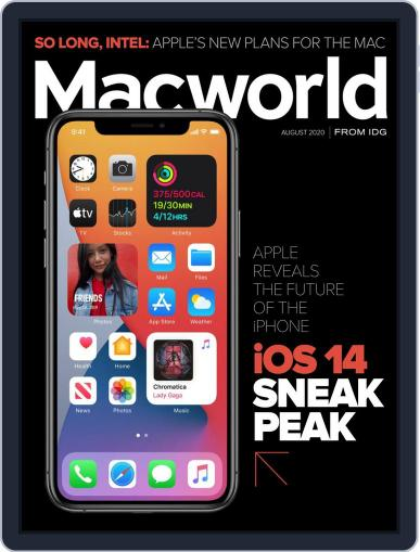 Macworld Magazine (Digital) August 1st, 2020 Issue Cover