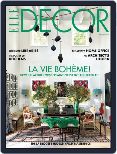 ELLE DECOR Magazine (Digital) September 1st, 2020 Issue Cover