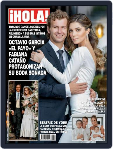 ¡Hola! Mexico Magazine (Digital) August 13th, 2020 Issue Cover