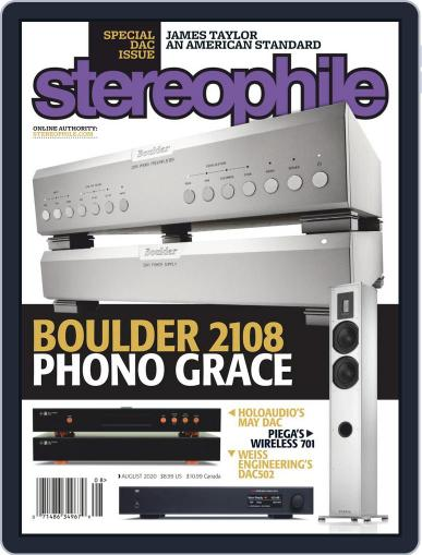 Stereophile Magazine (Digital) August 1st, 2020 Issue Cover