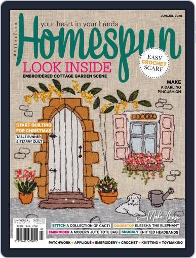Australian Homespun Magazine (Digital) June 1st, 2020 Issue Cover