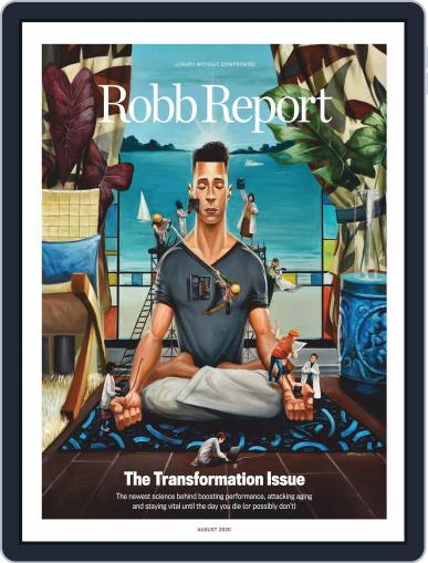 Robb Report Magazine (Digital) August 1st, 2020 Issue Cover
