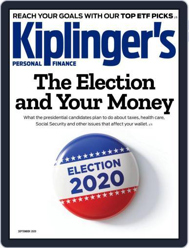 Kiplinger's Personal Finance Magazine (Digital) September 1st, 2020 Issue Cover