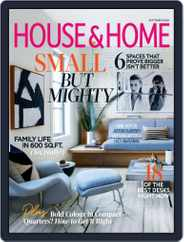 House & Home Magazine (Digital) Subscription September 1st, 2020 Issue