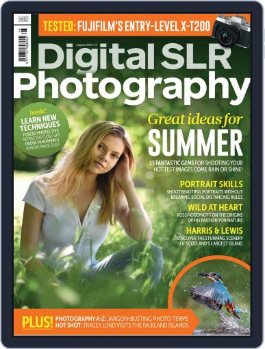 Digital SLR Photography Magazine August 1st, 2020 Issue Cover