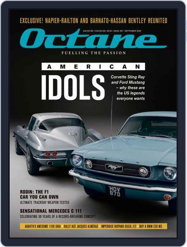 Octane Magazine (Digital) September 1st, 2020 Issue Cover