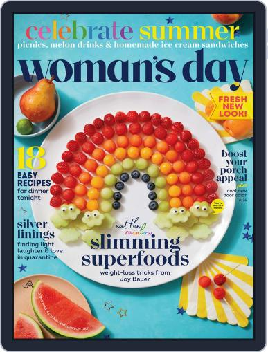 Woman's Day Magazine (Digital) July 1st, 2020 Issue Cover
