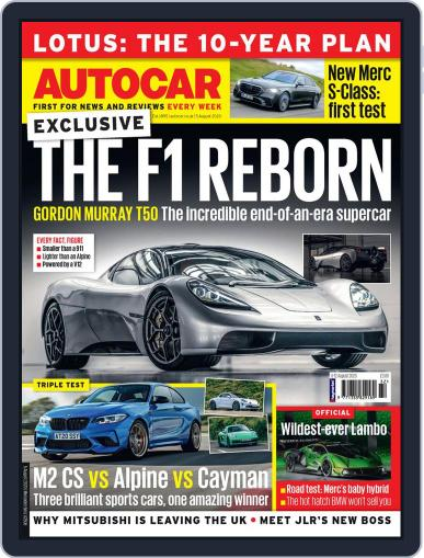 Autocar Magazine (Digital) August 5th, 2020 Issue Cover