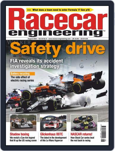 Racecar Engineering Magazine (Digital) August 1st, 2020 Issue Cover