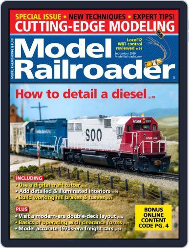 Model Railroader Magazine (Digital) September 1st, 2020 Issue Cover