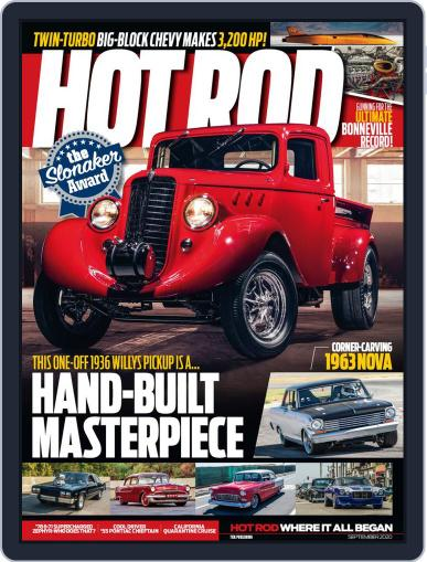 Hot Rod Magazine (Digital) September 1st, 2020 Issue Cover