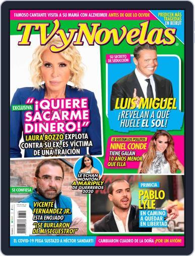 TV y Novelas México Magazine (Digital) August 10th, 2020 Issue Cover