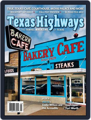 Texas Highways Magazine (Digital) August 11th, 2011 Issue Cover