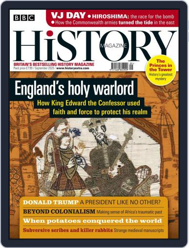 Bbc History Magazine (Digital) September 1st, 2020 Issue Cover
