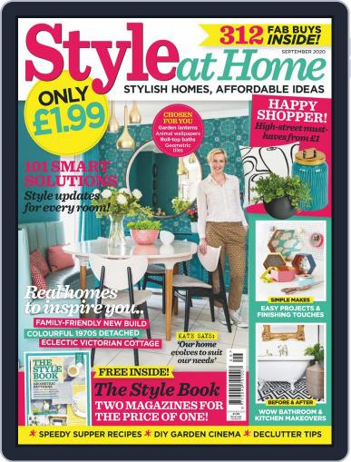 Style At Home United Kingdom Magazine (Digital) September 1st, 2020 Issue Cover