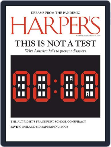 Harper's Magazine (Digital) July 1st, 2020 Issue Cover