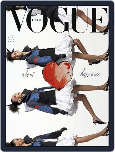 Vogue Italia Magazine (Digital) August 1st, 2020 Issue Cover