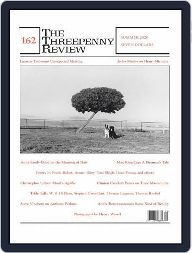 The Threepenny Review Magazine (Digital) June 1st, 2020 Issue Cover