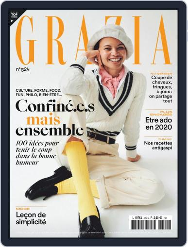 Grazia France Magazine (Digital) March 25th, 2020 Issue Cover