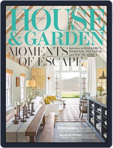 House and Garden Magazine (Digital) September 1st, 2020 Issue Cover