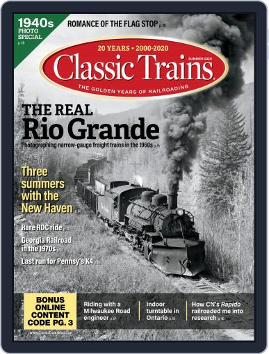 Classic Trains Magazine (Digital) May 4th, 2020 Issue Cover