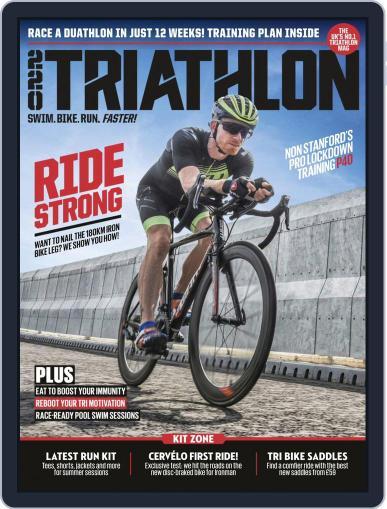 220 Triathlon Magazine (Digital) August 1st, 2020 Issue Cover
