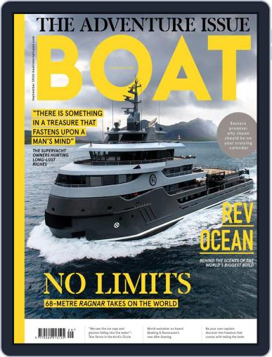 Boat International Magazine (Digital) September 1st, 2020 Issue Cover