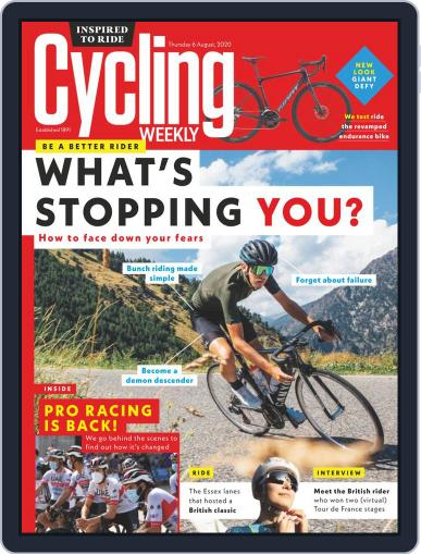 Cycling Weekly Magazine (Digital) August 6th, 2020 Issue Cover