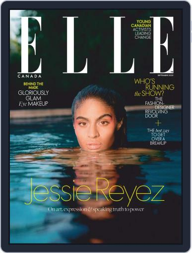 Elle Canada Magazine (Digital) September 1st, 2020 Issue Cover