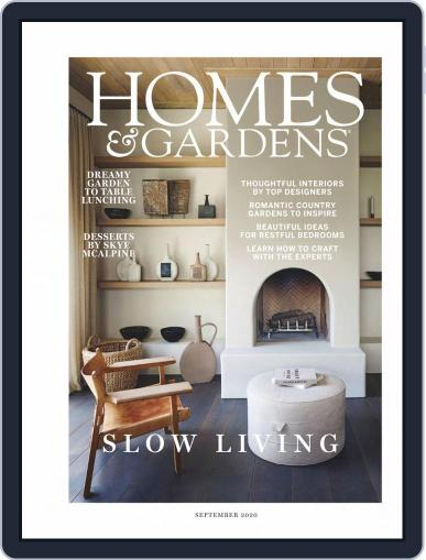 Homes & Gardens Magazine (Digital) September 1st, 2020 Issue Cover