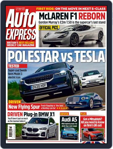 Auto Express Magazine (Digital) August 5th, 2020 Issue Cover