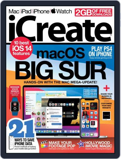iCreate Magazine (Digital) September 1st, 2020 Issue Cover