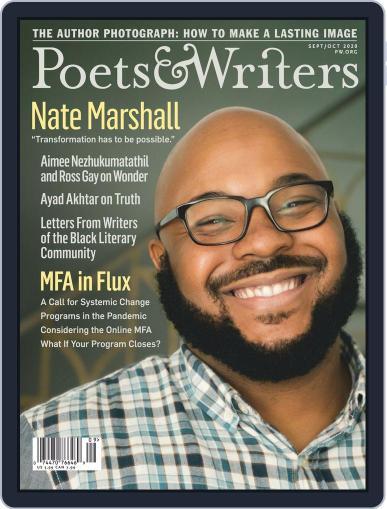 Poets & Writers Magazine (Digital) September 1st, 2020 Issue Cover